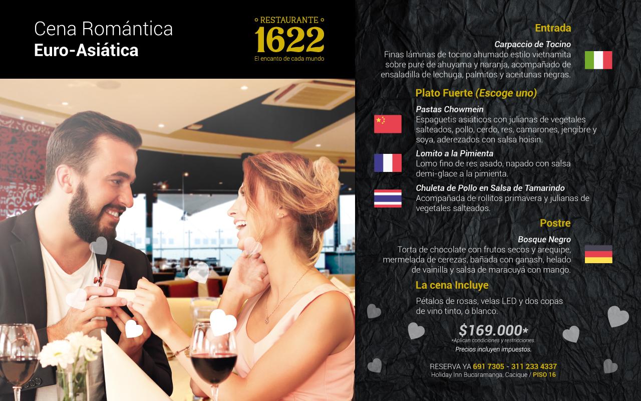 Planes Bucaramanga - Cenas romantica