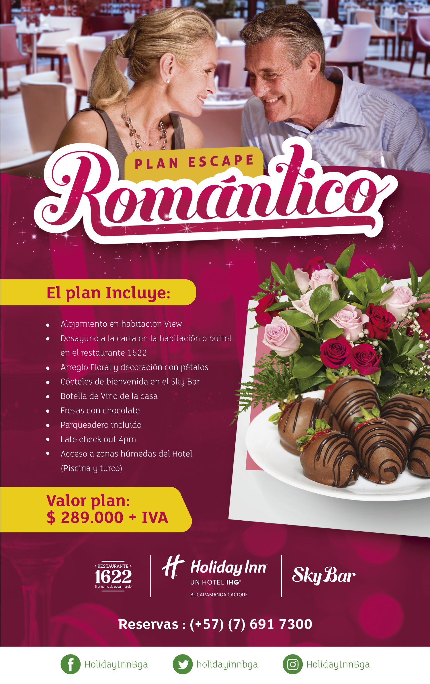 Plan Escape Romántico